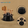 10 Agujero Oval Maquillaje Portaescobillas Secador de Rack cepillo de Dientes Estante Cosmético Organizador Soporte de Exhibición