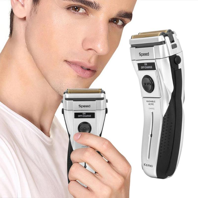Rechargeable Razor Beard Shaver Gray Man Rechargeable Razor Electric Cordless 2w 230v Beard Shaver 2019 valentines day gift