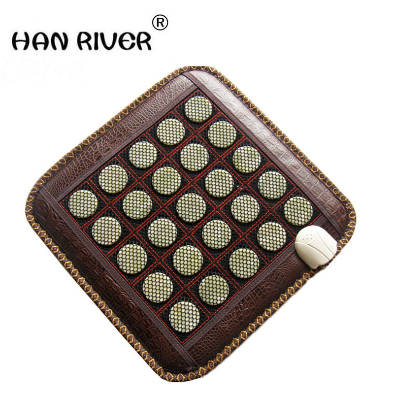 Pure natural jade electric heating cushion germanium stone electric heating cushion of the sofa cushion care ms tomalin anion 2017 home comfort jade sofa cushion germanium stone heating pad ms tomalin electric mattress care massage