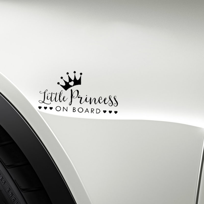 Crown Prince Ollie On Board Personalised Baby Child Boys Car Sign