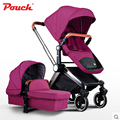 2016 Poussette Baby Stroller Baby Stroller Pram Ultra Portable Umbrella Car Foldable Wheelchairs Poussette Carriage 3 In 1