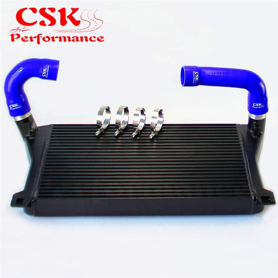 Intercooler + Blue Hose Kit For A3/S3 / VW Golf GTI R MK7 EA888 1.8T 2.0T TSI - title=