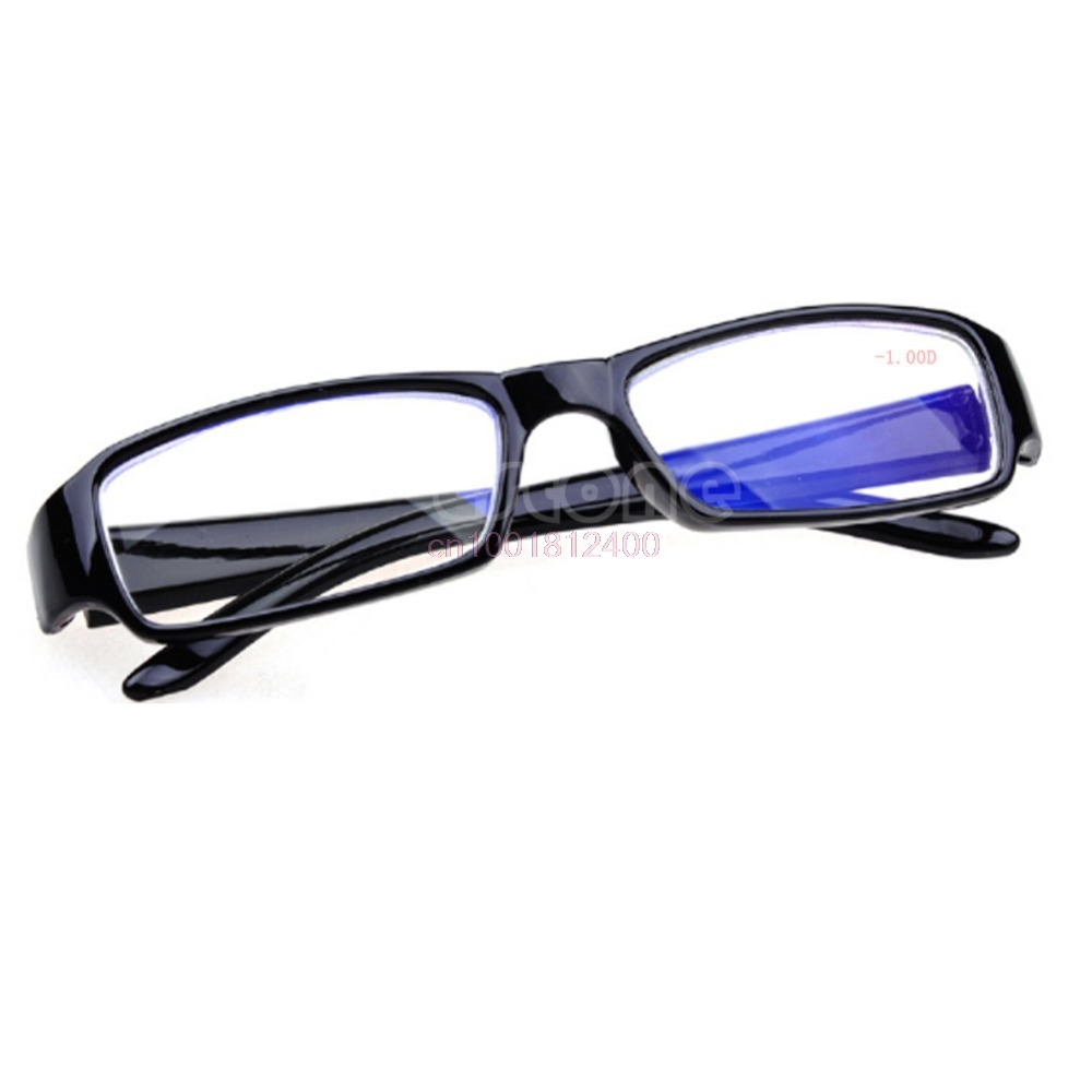 Myopia Glasses Black Frames Eyeglass Myopia Glasses -1 -1.5 -2 -2.5 -3 -3.5 -4 -4.5 -5.5 -6 Diopter