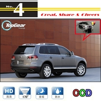 For Volkswagen VW Touareg High Quality Rear View Back Up WtaerProof Camera Car Camera For PAL / NTSC   CCD + RCA Connector