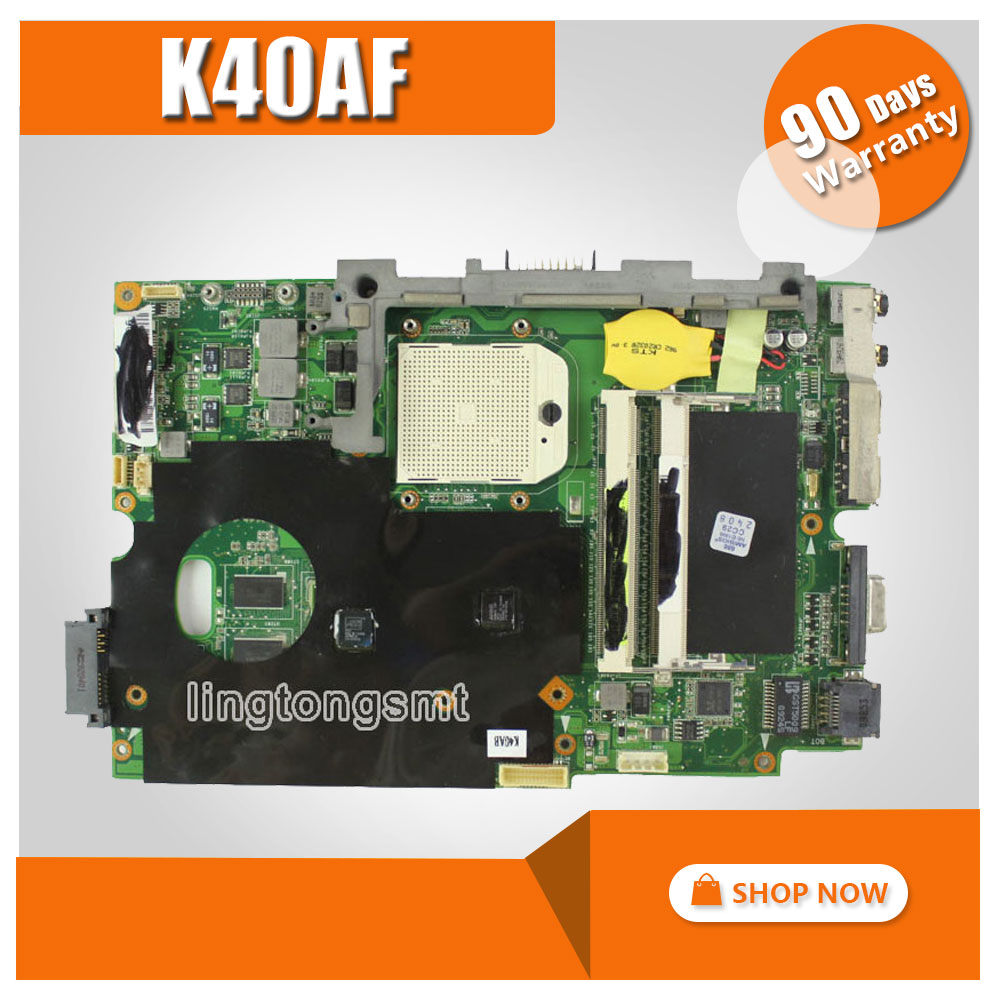 Original for ASUS K40AB Mainboard K40AF K50AD K50AB K50AF X8AAF X5DAF Motherboard HD 4570 512MB VRAM DDR2 tested good original mbx 219 motherboard da0sy3mb6g0 ddr2 mainboard 100