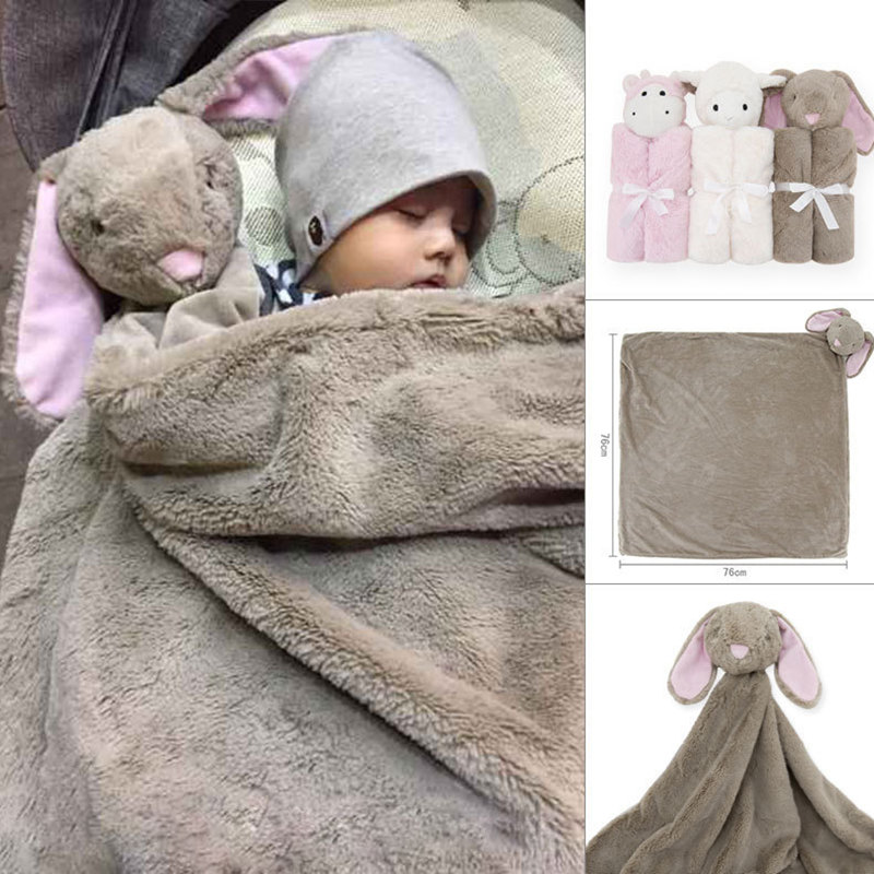 Baby blanket Childrens blanket crystal velvet newborn swaddle double-layered blanket baby products autumn winter thick quiltBaby blanket Childrens blanket crystal velvet newborn swaddle double-layered blanket baby products autumn winter thick quilt