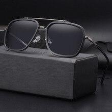 COLECAO HD Polarizado Gafas de Sol para Hombre para Hombre de Conducción gafas Retro Ciclismo Anti-reflejo gafas de sol hombres c1515