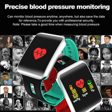 Heart Rate Monitor Blood Pressure Blood Oxygen Fitness Band