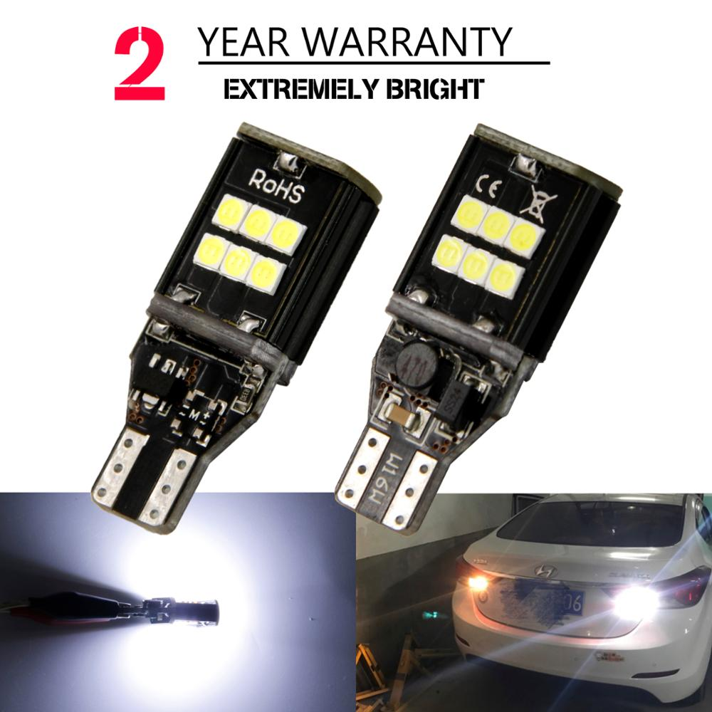 2pcs canbus led W16W LED CANBUS T15 45led 3030smd Chip LED High Power Light Bulbs Compatible with T10 W5W LED Bulbs Car styling 2pcs brand new high quality superb error free 5050 smd 360 degrees led backup reverse light bulbs t15 for jeep grand cherokee
