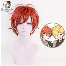 High Quality Division Rap Battle Hypnosis MIC Doppo KannonzaKa Wigs Heat Resistant Synthetic Hair Cosplay Costume Wig + Wig Cap все цены