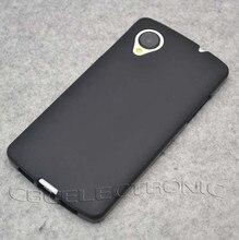 Nouveau TPU mat Gel coque peau couverture souple pour LG Google Nexus 5 E980 dos téléphone Silicone sac cas