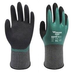 1 para rękawice gumowe odporne na zużycie rękawice robocze wodoodporne olejoodporne dezodorujące mechaniczne wędkarskie fabryczne rękawice ochronne