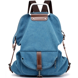 2018 Casual Canvas Bagpack Female Antique Cloth Cotton Women Backpack College School Rucksack Travel Large Capacity Lightweight