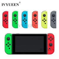 IVYUEEN Replacement Shell Skin For Nintend Switch Joy Con Cover For NS JoyCon Controller Housing Case
