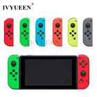 IVYUEEN Green Red for Nintend Switch Joy-Con Replacement Shell for NS JoyCons Controller Housing Cover for Joy Cons Repair Part