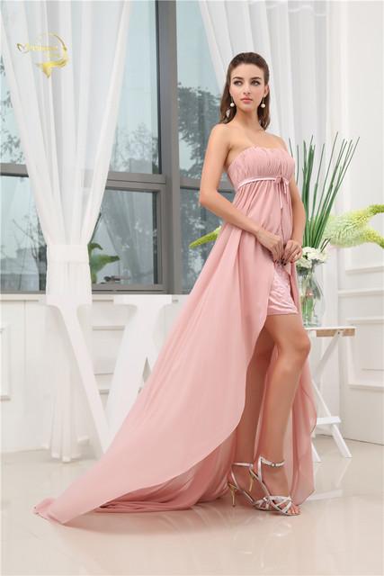 Online Shop New Pregnant Women Evening Dress Zipper Long Formal ... 5c9d63db9608