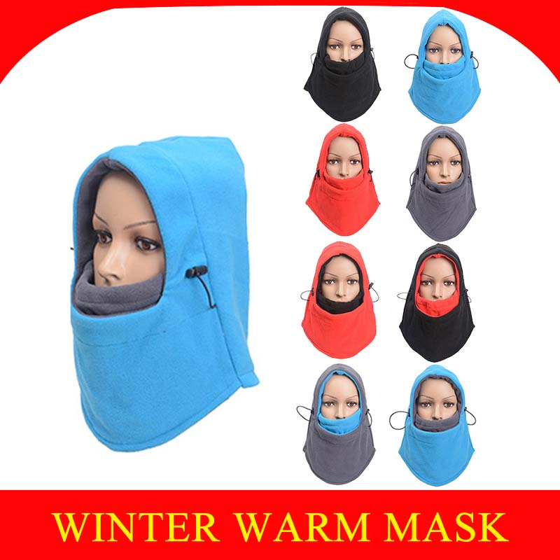 Winter Kominiarka Motorcycle Face Mask Biker Face Shield Balaclava Cagoule Visage Moto Ski Mask Bivakmuts Windproof Mascara Moto in Motorcycle Face Mask from Automobiles Motorcycles