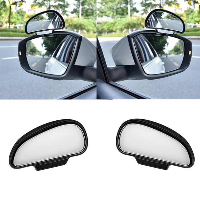 1Pcs Universal Car Auto Wide Angle Rear Side View Blind Spot Square Mirror #276316