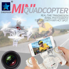 CHEERSON CX-10WD-TX 2.4G FPV Controlled RC Mini Drones with Camera Height Hold Mode CX-10WD Phone Controlled Mini Quadcopter Toy