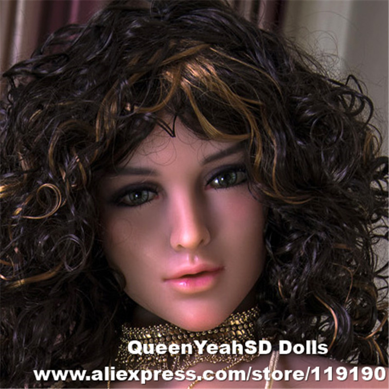 Realistic Sex Doll Head For Silicone Adult Doll Sexy Toy  For Men Oral Heads Can Fit For 140cm To 170cm Full Size DollsRealistic Sex Doll Head For Silicone Adult Doll Sexy Toy  For Men Oral Heads Can Fit For 140cm To 170cm Full Size Dolls