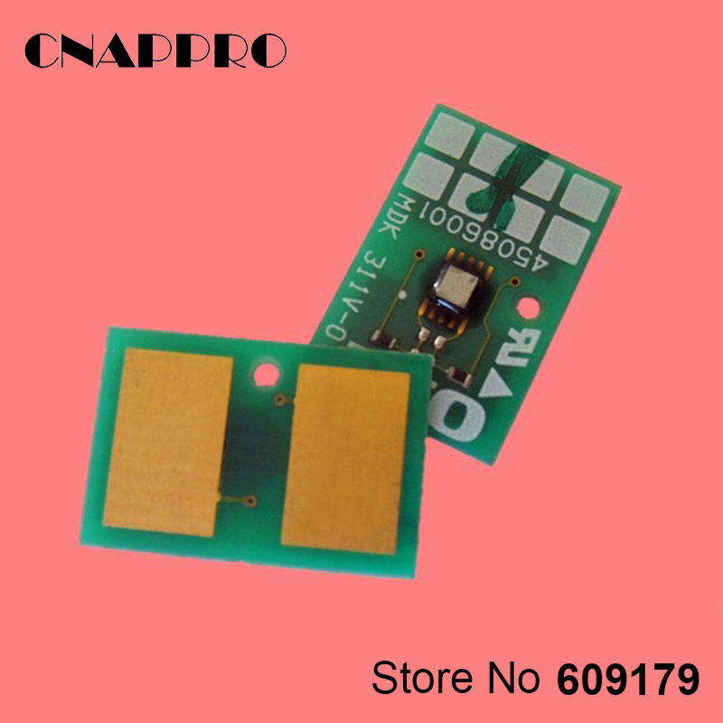 Compatible OKI 45536405 Printer Toner White Chip For data Okidata C941 C942 C 941 942 Cartridge Reset refill Chips кий cuetec 2pc пул синий 9960 817