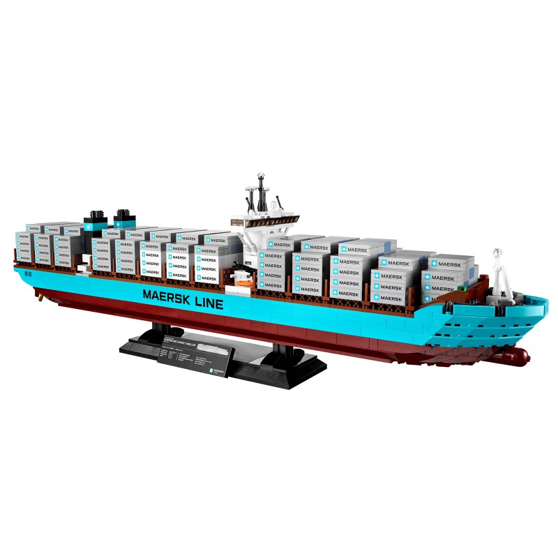 Lepin 22002 1518Pcs Technic Series The Maersk Cargo Container Ship Set Building Blocks Bricks Model Educational Toys Gift 10241 black pearl building blocks kaizi ky87010 pirates of the caribbean ship self locking bricks assembling toys 1184pcs set gift