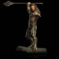 23cm DC Anime Aquaman Pvc Figure Display Toy Cartoon Arthur Curry Orin Jouet With Box Children Birthday Brinquedos Gift