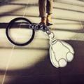 100pcs/lot 2015 New 5.5cm Big Hero 6 Baymax Rubber Action Figure Cartoon Model Toys Kids Birthday Gifts