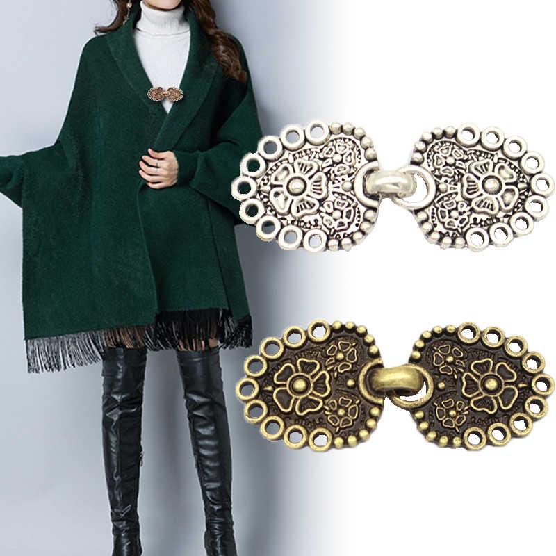ファッションレトロメッキカモノハシバックル服の装飾チェーンカーディガンクリップセーターブラウスクリップ服装飾ブローチピン