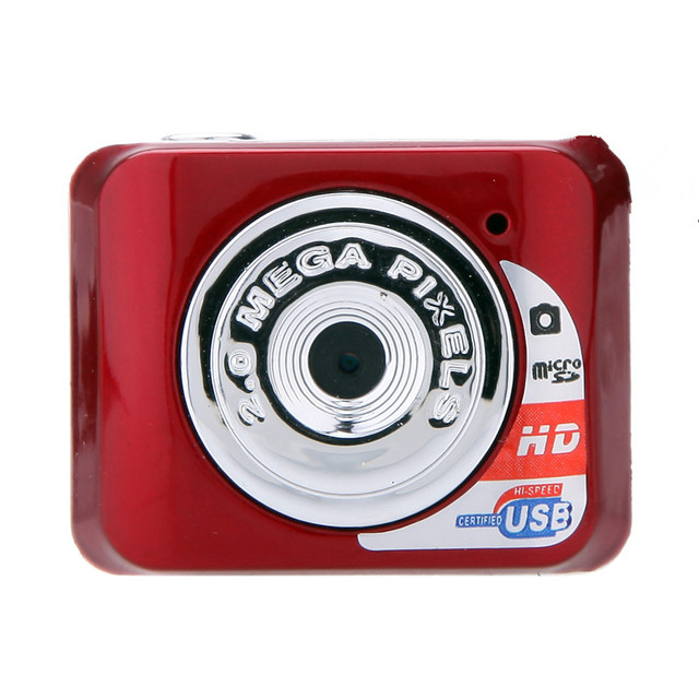 Free Shipping Video Resolution 640*480 Removable Disc Pc Camera Portable Mini HD Digital Camera Support for TF for Micro SD