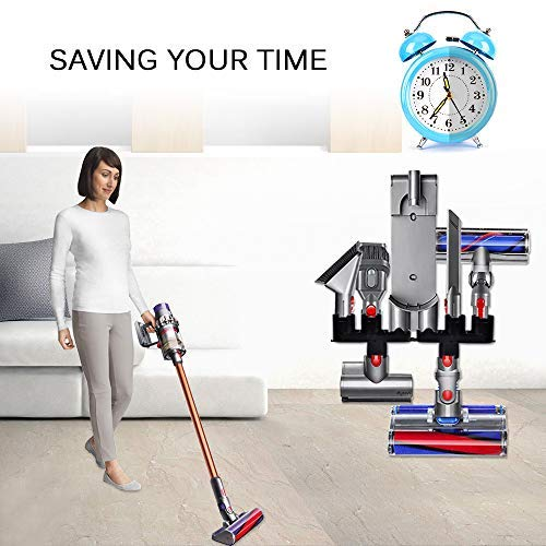 Compatible with Dyson V10 holder V8 V7 Docks Station Accessory Organizer Holders Wall Mount Accessories in Vacuum Cleaner Parts from Home Appliances
