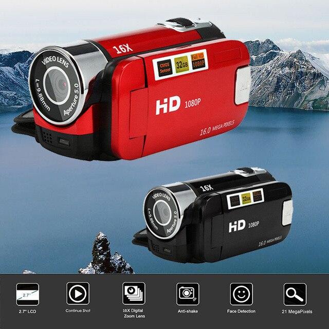 HIPERDEAL 2.7Inch TFT Screen 16X Digital Zoom DV Video Camcorder HD 1080P Handheld Digital Camera CMOS Sensor Up To 32 GB SD