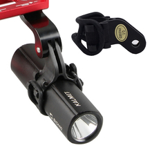 Bicicleta de Montaña bicicleta de carretera MTB ciclismo ordenador teléfono montaje soporte luz linterna Clip adaptador para montaje GoPro