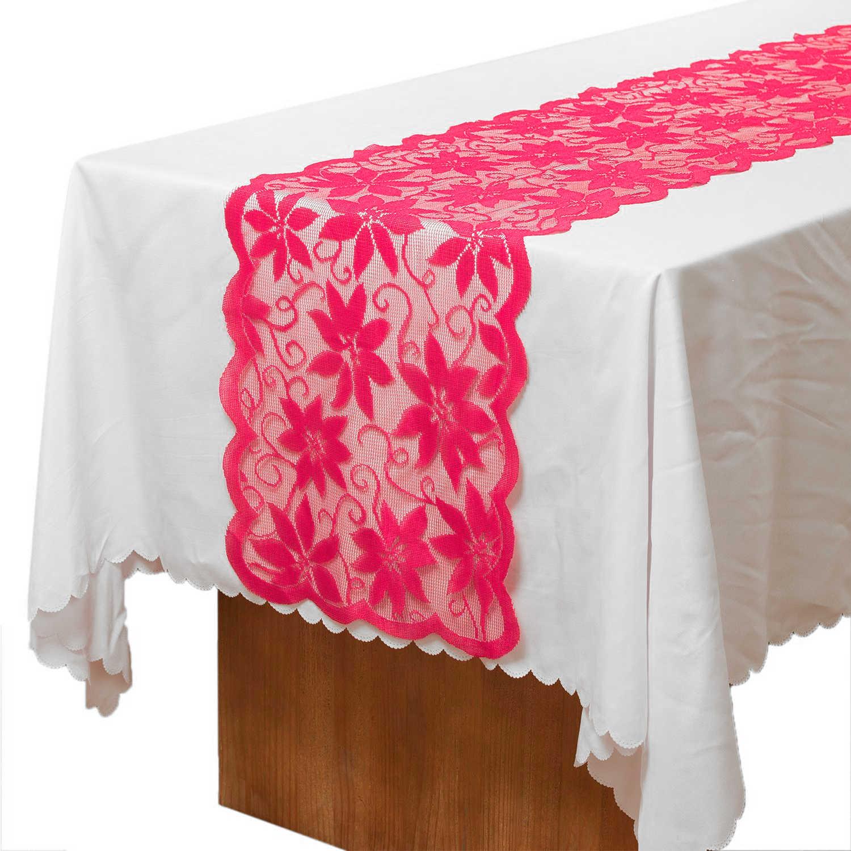 33x183 см модная кружевная Полиэстеровая узкая скатерть для дома вечерние банкетные Свадебные торжественные принадлежности для рождественского декора