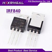 10PCS IRF840 IRF840PBF TO220 TO-220 New original