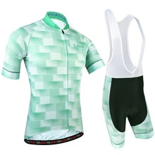 цена на BXIO Mens Cycling Jersey Sets Short Sleeve With Bib Shorts Pro Team Bike Wear Road Race For Cycling Clothing Ropa Ciclismo 190