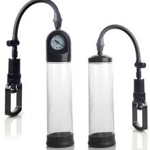 Penis Enlargement with Gauge,Vacuum pump penis Extender/Enhancer