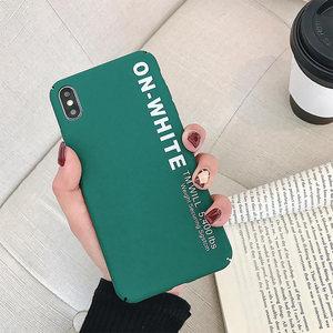 Image 2 - KISSCASE Letter Phone Case For Xiaomi Redmi Note 7 6 5 Pro Pocophone F1 Mi8 Mi A2 Lite 6X 5X A1 Mi9 SE Hard PC Back Cover