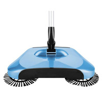 1pc Hand Push Type Sweeper Magic Broom Dustpan Combination Package Set Lazy Household Cleaning Tool Automatic