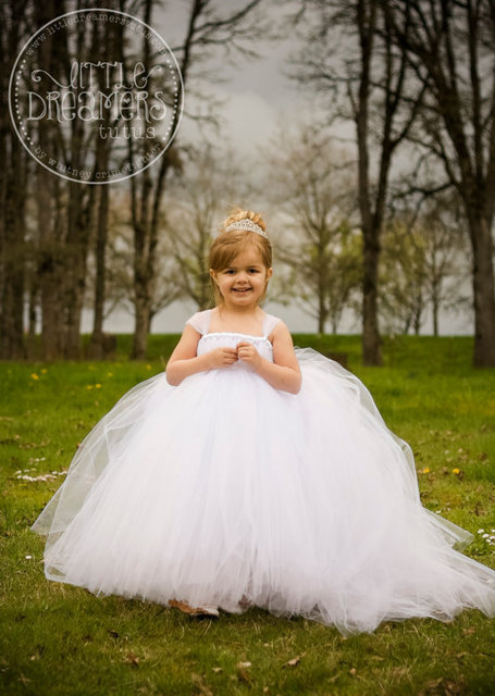 4a74f80a263 2015 Miniature Bride Flower Girl Dress with Detachable Train Pageant Dresses  for Little Girls Dresses