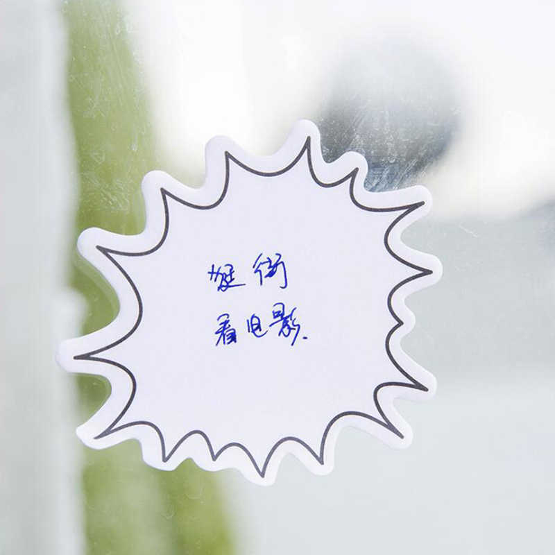 النمط الياباني الحد الأدنى الحوار الذاتي لاصق مذكرة الوسادة ملاحظات لاصقة مكتب القرطاسية واللوازم المدرسية 1 قطعة