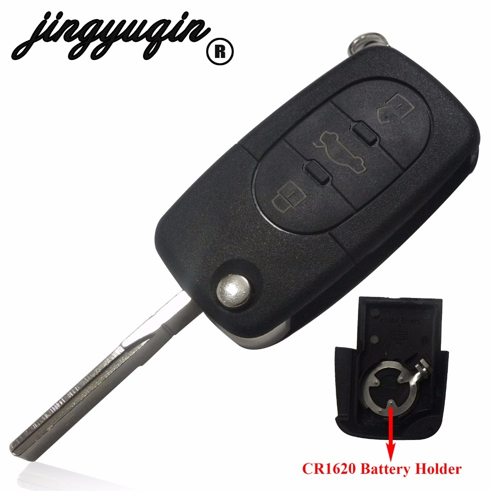 Audi Key Replacement Cost: Jingyuqin 10pcs/lot 1997 2005 Old Models Fit CR1620 Small