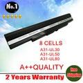 Лэптоп аккумулятор для Asus UL30 UL50 UL80 A42-UL30 A42-UL50 A42-UL80 A31-UL30 A31-UL50 A31-UL80 8 клетки