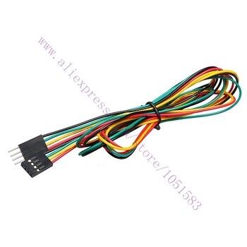 10 unids/lote 4Pin macho a hembra Dupont saltador cables Cable longitud del Cable 70cm 3D piezas de la impresora/Accesorios