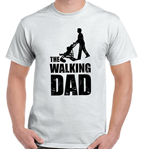The Walking Dad T Shirt Cool Funny Dads Fathers Day Gift Ideas T-Shirt