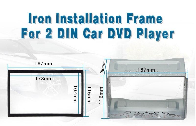 DVD 2 Din Installation