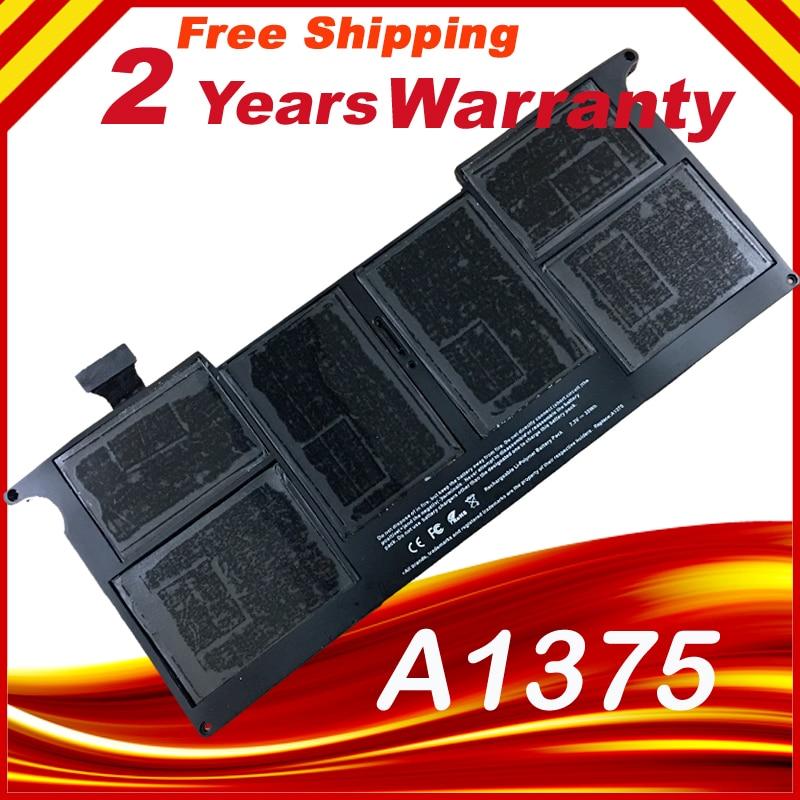Бесплатная доставка Новый ноутбук Батарея для Apple MacBook Air 11 A1370 [2010 производства] заменить: a1375 Батарея