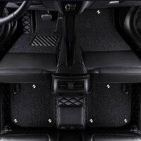 Custom logo car floor mats for renault symbol fluence talisman laguna koleos Talisman megane Espace auto accessories car mats