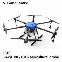 EFT E610 10L/10KG waterdichte landbouwverstuivers drone vlucht platform 1400mm wielbasis 10KG sproeier systeem Vouwen UAV