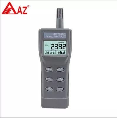 AZ77535 детектор углекислого газа CO2 тестер с Температура и влажности точки